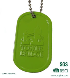 Cheap Custom Printing Dog Tag with Logo pictures & photos