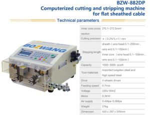 Bzw Computerized Wire Stripper (flat jacket model) pictures & photos