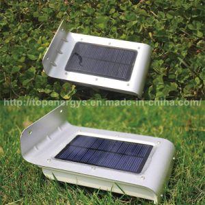16 LED Sound Motion Sensor Solar Lights Wireless Waterproof Exterior Solar Security Wall Mount Light for Garden Backyard pictures & photos