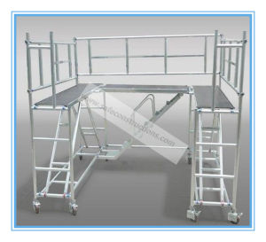 Safe Ce Approved Aluminum Scaffolding Tower for Decoration pictures & photos