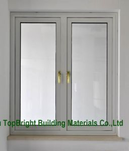 Modern Luorocarbon Coating Laminated Glass Aluminum Casement Window pictures & photos
