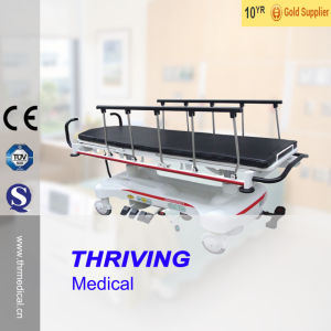 Imported Hydraulic System Patient Transfer Trolley (THR-111B) pictures & photos