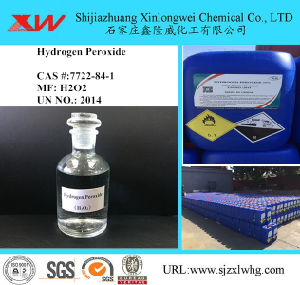 High Quality Hydrogen Peroxide H2O2 Industrial Grade pictures & photos