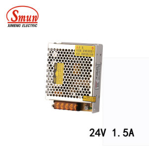 Smun S-35-24 35W 24VDC AC DC Switching Mode Power Supply pictures & photos