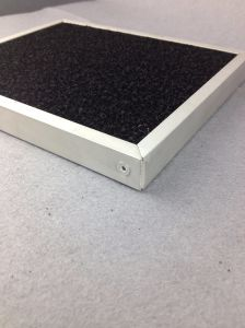 Foam Activated Charcoal Air Filter pictures & photos