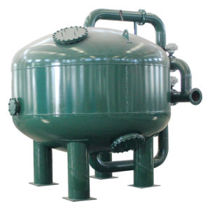 Industral 2000mm Diameter Pressure Sand Filter with Carbon Towers Tank pictures & photos