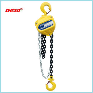 Steel Lifting Construction Chain Block/Hoist with Big Capacity pictures & photos
