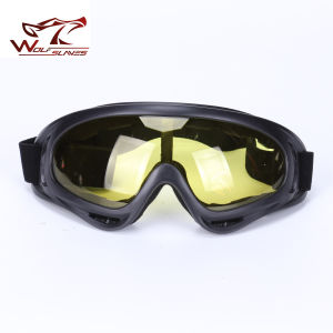 Airsoft X 400 Goggles Windproof UV Protection Glasses Outdoor Sports Sunglasses pictures & photos