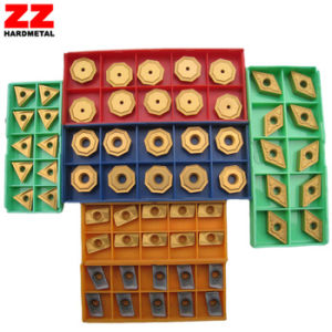 Carbide Indexable Turning Inserts Milling Inserts CVD Coating PVD Coating pictures & photos