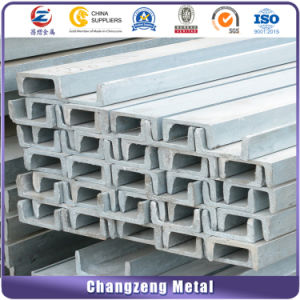 Hot Rolled Carbon Channel Steel with U Type pictures & photos