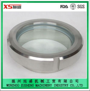 Dn32 AISI304 Stainless Steel Sanitary Welding Union Sight Glass pictures & photos