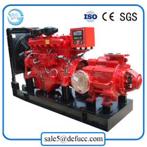 D Type Huge Flow High Head Multistage Diesel Centrifugal Water Pump pictures & photos