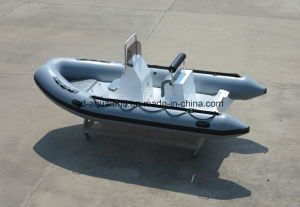 Aqualand 16feet 4.7m Rib Motor Boat /Rigid Inflatable Boat (RIB470A) pictures & photos