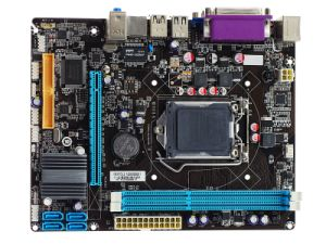 Esonic LGA1155 Motherboard Mainboard Intel H61FDL2 for I3 I5 I7 CPU pictures & photos