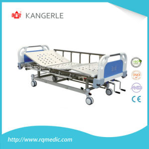 Wholesale Adjustable Hosptial Bed Double Crank. Manual Bed