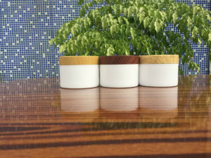 50g, 30g, 20g Bamboo Cream Jar, Wood Cosmetic Jars pictures & photos