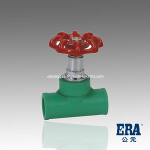 PPR DIN Standard Stop Valve with Socket End pictures & photos