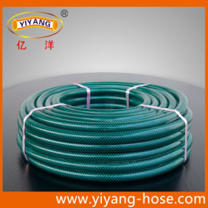China 12 Inch Fiber Rein Forced PVC Garden Hose China Garden