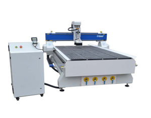 4.5kw Spindle DSP Vacuum Zone CNC Router Woodworking Machinery (1300X2500mm)