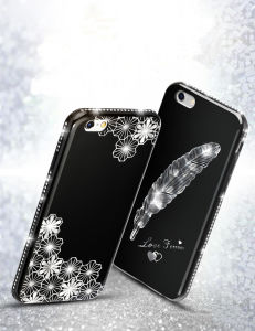 2017 Super Diamond PC Hard Cases for iPhone 6, for Crystal Diamond Case Cover for iPhone 6s pictures & photos