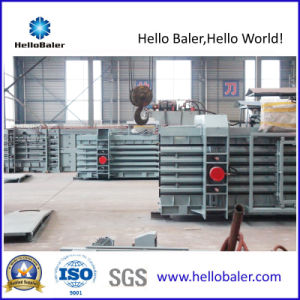 Horizontal Hydraulic Semi-Automatic Waste Paper Baler (HSA4-6) pictures & photos