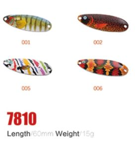 High Quality and Low Price 60mm 15g Fishing Spoon Lures pictures & photos
