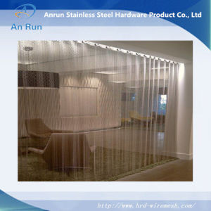 Curtain Wall Woven Wire Fabric / Stainless Steel / Twisted pictures & photos