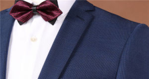 Linen Fitted Grooms Wedding Dress Suit for Men pictures & photos