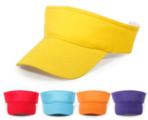 Promotional Blank Visor Cap for Custom Logo Design pictures & photos
