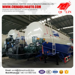 Qilin High Performance Food Grade Flour Powder Transport Tanker Semi Trailer pictures & photos
