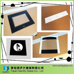Factory Price Tempered Oven Door Glass with Silk Screen Printing pictures & photos