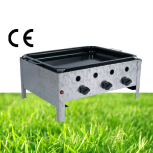 Outdoor Three Burner Gas Grill pictures & photos