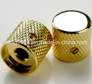 Custom Metal Golden Knurled Guitar Volume Control Knob pictures & photos