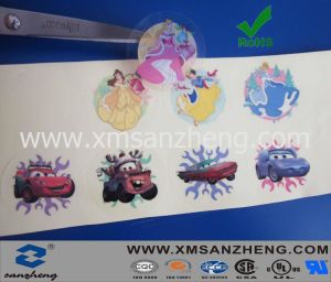 Clear Cartoon Sticker, Car Stickers pictures & photos