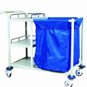 Hospital Medical Laundry Trolley Luggage Clean Linen Trolley, Medical Cart pictures & photos