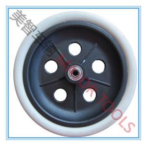 200X50 Wheelchair PU Wheel with Ball Bearings pictures & photos