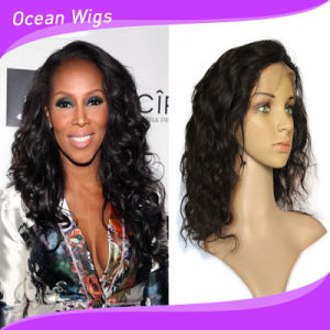 Top Quality 100% Human Hair Full Lace Wig pictures & photos
