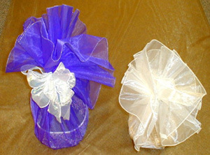 Round Organza Circles for Packing Bag pictures & photos