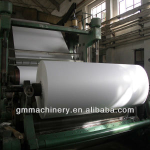 Copy Paper/Printing Paper Jumbo Roll Making Machine pictures & photos