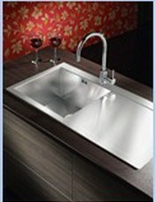 Handmade Sink with Drainboard (XS-SHS7848)