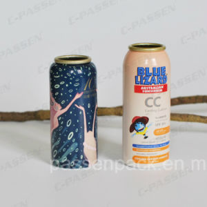Aluminum Aerosol Bottle for Sunscreen Spray Packaging (PPC-AAC-033) pictures & photos