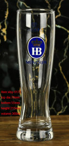 High Quality Customized Crystal Beer Glass for Sale pictures & photos
