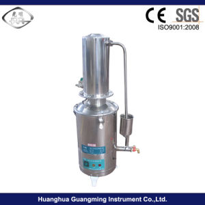 Water-Cooled Industrial Lab Auto-Control Water Distiller pictures & photos
