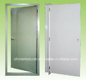 Metal Door with Pre Hung Design (CHAM-ID02) pictures & photos