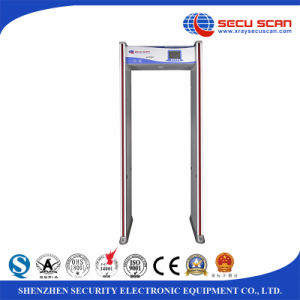 8/16/24 Multi-Zone Detecting Door Frame Metal Detector Factory Price pictures & photos