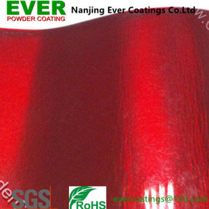 Transparent Red Powder Coatings Paint pictures & photos