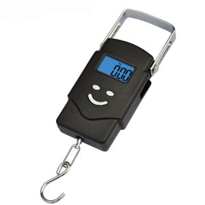 Electronic Portable Scale with LCD Backlight (HL113A) pictures & photos