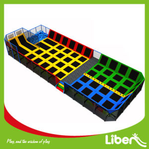 Large Free Jumping Trampoline Area with Dodge Ball Court pictures & photos