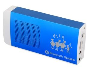 JXD X22 Mini Bluetooth Speaker with Line in& Power Bank for Cellphone (JXD X22)