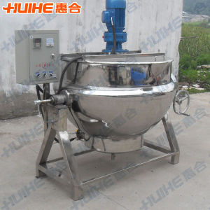 Electric Heating Tilting Jacketed Kettle (Mixer) pictures & photos